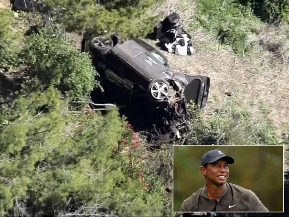 Tiger Woods undergoes surgery after car crash